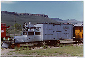 RGS Goose #2 with plow on front at Colorado Railroad Museum.<br /> RGS  Golden, CO