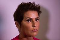 SAO PAULO, SP, 24.04.2019 - MODA-SP -Deborah Secco durante a edição 47 da São Paulo Fashion Week, no espaço Arca, zona oeste de São Paulo, nesta quarta-feira, 24. (Foto: Ciça Neder / Brazil Photo Press / Folhapress)
