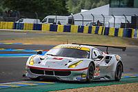 #54 SPIRIT OF RACE (CHE) FERRARI 488 GTE LMGTE AM THOMAS FLOHR (CHE) FRANCESCO CASTELLACCI (ITA) OLIVIER BERETTA (MCO)
