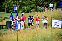 Moriya Jutanugarn (THA) watches her tee shot on 15 during Saturday's round 3 of the 2017 KPMG Women's PGA Championship, at Olympia Fields Country Club, Olympia Fields, Illinois. 7/1/2017.<br /> Picture: Golffile | Ken Murray<br /> <br /> <br /> All photo usage must carry mandatory copyright credit (&copy; Golffile | Ken Murray)