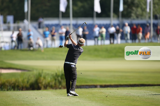 S?ren Kjeldsen (DEN) playing second shot to the 11th during Round Two of the 2015 BMW International Open at Golfclub Munchen Eichenried, Eichenried, Munich, Germany. 26/06/2015. Picture David Lloyd   www.golffile.ie