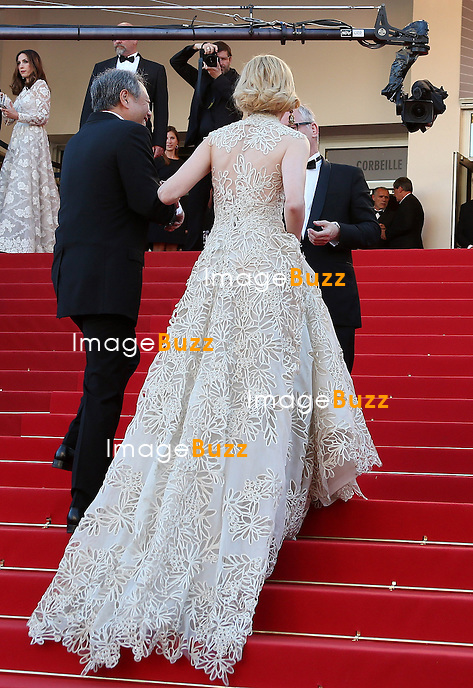 CPE/Jury members Ang Lee ad Nicole Kidman attend the 'Nebraska' premiere during The 66th Annual Cannes Film Festival at the Palais des Festival on May 23, 2013 in Cannes, France.