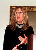 Jane Fonda speaks at a meeting of the National Family Planning and Reproductive Health Association in Washington, D.C. on February 17, 1999..Credit: Ron Sachs / CNP