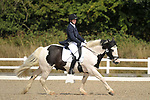 Stapleford Abbotts. United Kingdom. 04 August 2019. Class 7. British dressage. Brook Farm training centre. UK.~ 04/08/2019.  MANDATORY Credit Garry Bowden/Sport in Pictures - NO UNAUTHORISED USE - 07837 394578