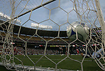 13 June 2009: Chicago's Marco Pappa scores a goal past diving DC goalkeeper Josh Wicks (31). DC United defeated the Chicago Fire 2-1 at RFK Stadium in Washington, DC in a regular season Major League Soccer game.