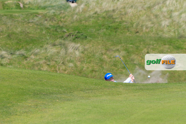Neil Kilgallon (European) on the 12th during Round 2 of the Irish Seniors Amateur Open Championship in the Waterville Golf Club on Thursday 29th May 2014.<br /> Picture:  Thos Caffrey / www.golffile.ie