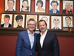 Thomas Schumacher and Rob Ashford during the Rob Ashford portrait unveiling for the Sardi's Wall of Fame on October 10, 2018 at Sardi's Restaurant in New York City.