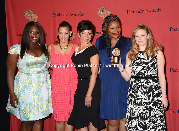 "cast of ""Orange is the New Black"" attends the 73rd Annual Peabody Awards on May 19, 2014 at The Waldorf Astoria Hotel in New York City, New York, USA."