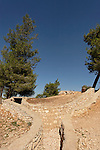 Israel, Jerusalem, Ammunition Hill, formerly a Jordanian Army stronghold, was conquered in the Six Day War in 1967. The hill was converted into a national memorial site and museum<br />