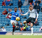 28.07.2019 Rangers v Derby County: Jermain Defoe and Richard Keogh