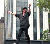 Brian Johnson AC/DC Rock Group Singer 1996<br />