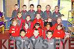 One of the junior infants class of 2008 during their first day in Holy Cross Mercy school in Killarney on Monday.   Copyright Kerry's Eye 2008