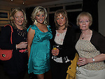 Antoinette Hufges, Maria Flynn, Linda Martin and Detta Lee pictured at Shirley Ryan's 50th birthday in the Glenside hotel. Photo: Colin Bell/pressphotos.ie