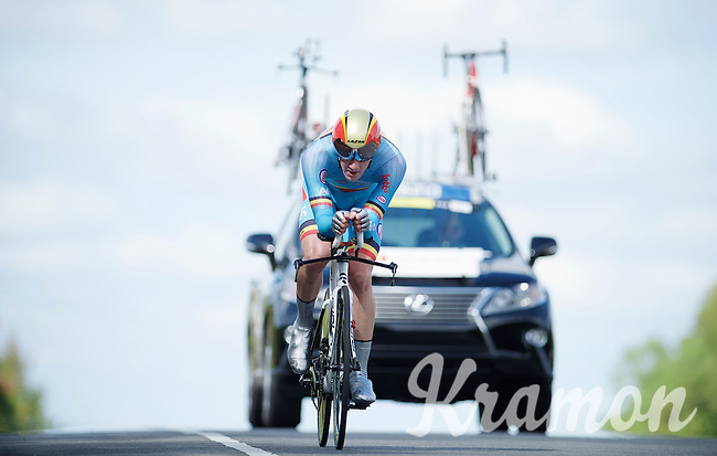 Jurgen Van den Broeck (BEL/Lotto-Soudal)<br /> <br /> Elite Men TT<br /> UCI Road World Championships / Richmond 2015