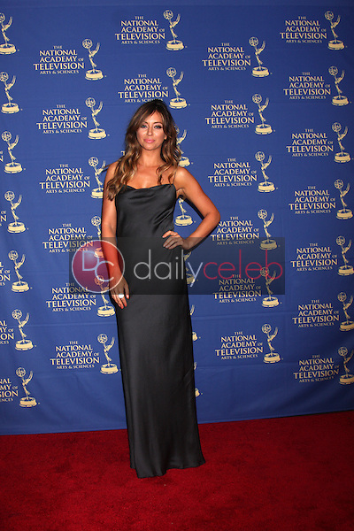 LOS ANGELES - JUN 20:  Nicole Dabeau at the 2014 Creative Daytime Emmy Awards at the The Westin Bonaventure on June 20, 2014 in Los Angeles, CA