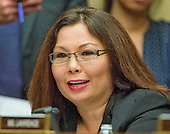 United States Representative Tammy Duckworth (Democrat of Illinois) questions FBI Director James Comey as he testifies before the United States House Committee on Oversight and Government Reform following his announcement on Tuesday that he would recommend not to prosecute former US Secretary of State Hillary Clinton for maintaining a private server on Capitol Hill in Washington, DC on Thursday, July 7, 2016.<br /> Credit: Ron Sachs / CNP<br /> (RESTRICTION: NO New York or New Jersey Newspapers or newspapers within a 75 mile radius of New York City)