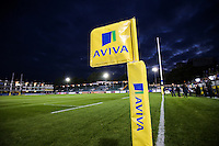 A general view of the Recreation Ground pitch prior to the match. Aviva Premiership match, between Bath Rugby and Sale Sharks on October 7, 2016 at the Recreation Ground in Bath, England. Photo by: Rogan Thomson / JMP for Onside Images