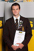Orienteering Boys winner Dominic Melchers from Pukekohe High School.  ASB College Sport Young Sportsperson of the Year Awards held at Eden Park, Auckland, on November 11th 2010.