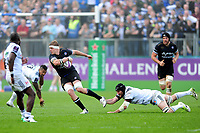 Tom Ellis of Bath Rugby goes on the attack. European Rugby Challenge Cup Quarter Final, between Bath Rugby and CA Brive on April 1, 2017 at the Recreation Ground in Bath, England. Photo by: Patrick Khachfe / Onside Images