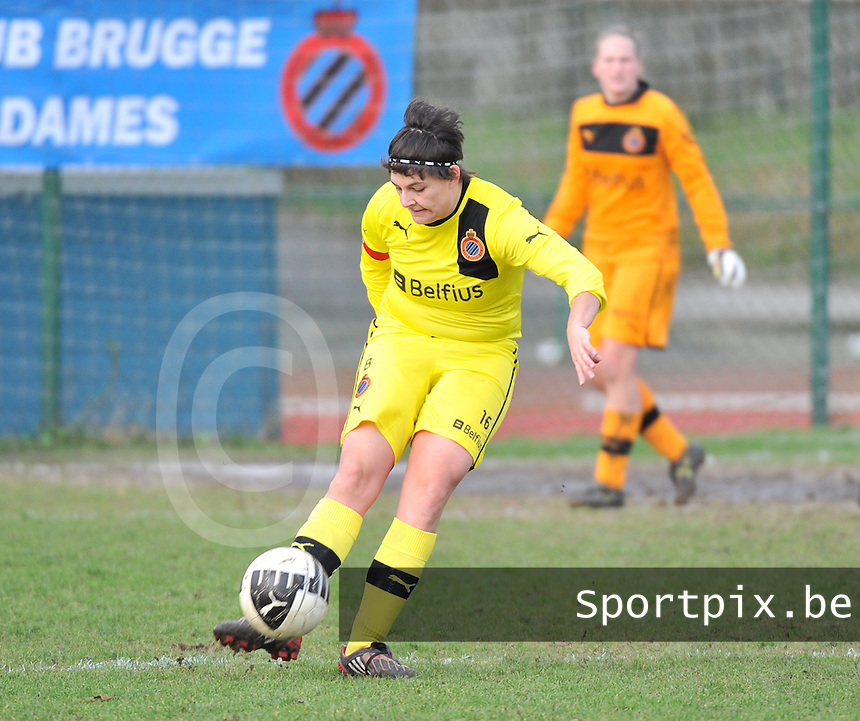 Club Brugge Dames - Davo Torhout : Ilse Morel.foto DAVID CATRY / Vrouwenteam.be