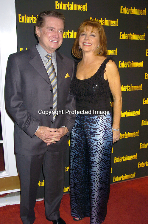 Regis Philbin and Joy Philbin..at the 11th Annual Entertainment Weekly Oscar Party on ..Februaty 27, 2005 at Elaine's in New York City. ..Photo by Robin Platzer, Twin Images