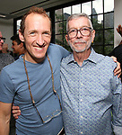 Jeffrey Seller and Sam Rudy attend the Retirement Celebration for Sam Rudy at Rosie's Theater Kids on July 17, 2019 in New York City.