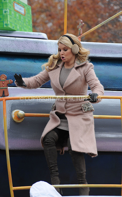 WWW.ACEPIXS.COM . . . . . ....November 25 2010, New York City....Singer Jessica Simpson at the 84th annual Macy's Thanksgiving Parade on November 25 2010 in New York City....Please byline: KRISTIN CALLAHAN - ACEPIXS.COM.. . . . . . ..Ace Pictures, Inc:  ..(212) 243-8787 or (646) 679 0430..e-mail: picturedesk@acepixs.com..web: http://www.acepixs.com