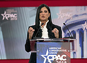 Dana Loesch, spokesperson for the National Rifle Association, speaks at the Conservative Political Action Conference (CPAC) at the Gaylord National Resort and Convention Center in National Harbor, Maryland on Thursday, February 22, 2018.<br /> Credit: Ron Sachs / CNP