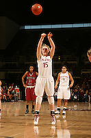 STANFORD, CA - JANUARY 10:  Guard Lindy La Rocque #15 of the Stanford Cardinal during Stanford's 102-53 win against the Washington State Cougars on January 10, 2009 at Maples Pavilion in Stanford, California.
