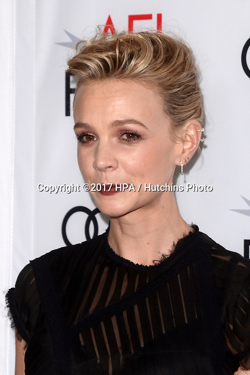 """LOS ANGELES - NOV 9:  Carey Mulligan at the """"Mudbound"""" Opening Gala of AFI Fest 2017 at the TCL Chinese Theater IMAX on November 9, 2017 in Los Angeles, CA"""
