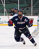 David Drake (UConn - 5) - The University of Maine Black Bears defeated the University of Connecticut Huskies 4-0 at Fenway Park on Saturday, January 14, 2017, in Boston, Massachusetts.