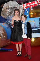 Madeleine Harris and Samuel Joslin arriving for the Paddington film premiere, at Odeon Leicester Square, London. 23/11/2014 Picture by: Alexandra Glen / Featureflash