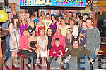 Aileen Morris seated  fourth from left, from Ciolbee, Listowel, celebrated her 21st birthday with family and friends at The Exchange bar Ballybunion on Friday night...   Copyright Kerry's Eye 2008