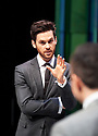 Dry Powder by Sarah Burgess. A Hampstead Theatre Production directed by Anna Ledwich. With Tom Riley as Seth, Joseph Balderrama as Jeff. Opens at The Hampstead Theatre on 1/2/18. CREDIT Geraint Lewis EDITORIAL USE ONLY