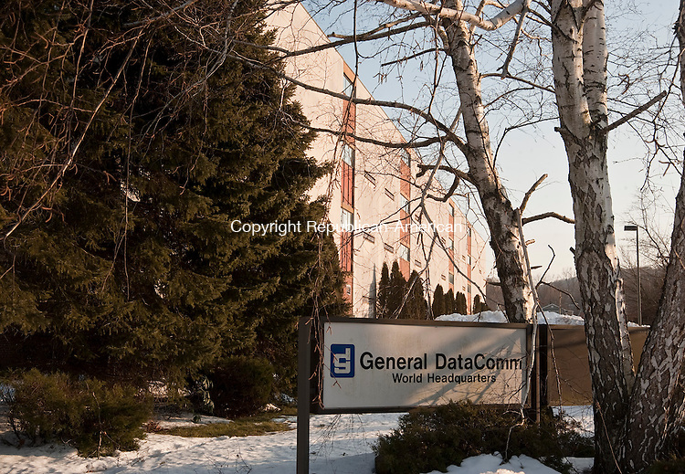 NAUGATUCK, CT 15 FEBRUARY 2013-021513JS03--General DataComm World Headquarters in Naugatuck. .Jim Shannon Republican-American