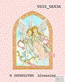 Ingrid, HOLY FAMILIES, HEILIGE FAMILIE, SAGRADA FAMÍLIA, paintings+++++,USISGA63A,#XR# angels ,vintage