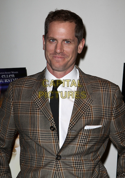 "JONNO ROBERTS .""The Elephant King"" New York Premiere held at the Angelika Theater, New York, NY, USA, 17 October 2008..half length tie plaid brown suit jacket .CAP/ADM/PZ.©Paul Zimmerman/Admedia/Capital Pictures"