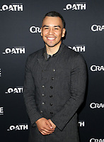 CULVER CITY, CA - MARCH 7: Joseph Julian Soria, pictured at Crackle's The Oath Premiere at Sony Pictures Studios in Culver City, California on March 7, 2018. <br /> CAP/MPIFS<br /> &copy;MPIFS/Capital Pictures