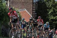 Later Stage winner Jelle Vanendert (BEL/Lotto Soudal) up the infamous Mur de Huy. <br /> <br /> Baloise Belgium Tour 2018<br /> Stage 4:  Wanze - Wanze 147.3km