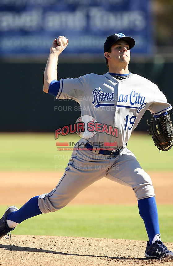 Aaron Crow - Surprise Rafters, 2009 Arizona Fall League.Photo by:  Bill Mitchell/Four Seam Images..