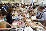 September 23, 2016, Tokyo, Japan - The 21st edition of Tokyo International Book Fair opens at the Big Site on the Tokyos waterfront on Friday, September 23, 2016. More than one million books will be exhibited by 470 domestic and foreign publishers during the three-day show.  (Photo by Natsuki Sakai/AFLO) AYF -mis-