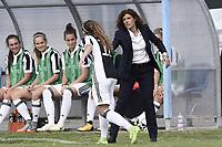 Mozzanica (Bg) 30/09/2017 - campionato di calcio serie A femminile / Mozzanica - Juventus / foto Daniele Buffa/Image Sport/Insidefoto<br /> nella foto: esultanza gol Benedetta Glionna-Rita Guarino