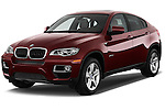 Front three quarter view of a .2013 BMW X6 X Drive 35i