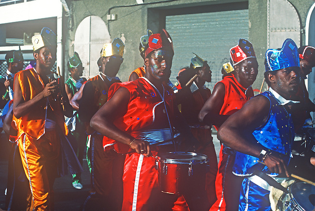 Mardi Gras, Pointe-a-Pitre, Guadeloupe, French West Indies, Caribbean..