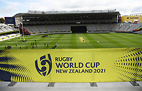 4th February 2020, Eden Park, Auckland, New Zealand;  General view and signage for the Rugby World Cup 2021.<br /> RWC 2021 New Zealand Kick-Off event at Eden Park, Auckland, New Zealand on Tuesday 4th February 2020.