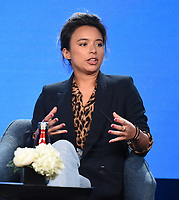"""PASADENA, CA - JANUARY 13: Isobel Yeung, Correspondent attends the panel for """"VICE"""" during the Showtime presentation at the 2020 TCA Winter Press Tour at the Langham Huntington on January 13, 2020 in Pasadena, California. (Photo by Frank Micelotta/PictureGroup)"""