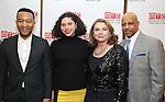 John Legend, Azula Carmen Wilson, Constanza Romero and Ruben Santiago-Hudson  attends August Wilson's 'Jitney' Broadway opening night after party at Copacabana on January 19, 2017 in New York City.