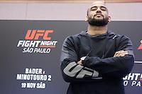 SÃO PAULO, SP, 17.11.2016 - UFC-SP - durante Media Day do Ultimate Fight Championship (UFC) Fight Night São Paulo - Bader- Minotauro 2, no hotel Renaissance, na tarde desta quinta-feira, 18. (Foto: Adriana Spaca/Brazil Photo Press)