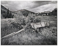 """Abandoned Wagon at Ashcroft""<br />