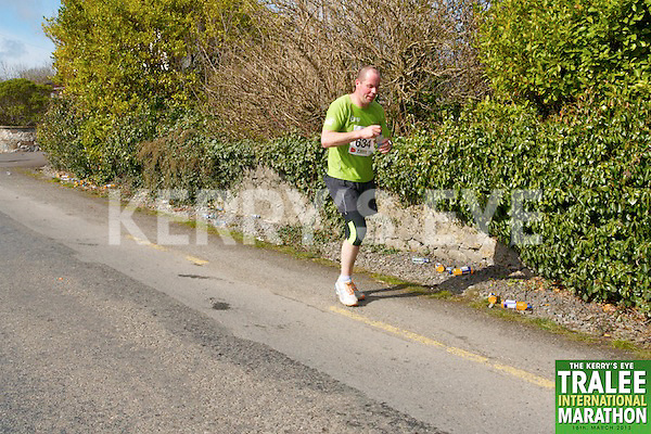 0634 Mike Sheehy  who took part in the Kerry's Eye, Tralee International Marathon on Saturday March 16th 2013.